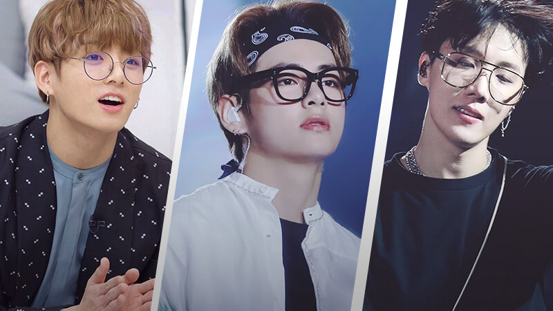 BTS in glasses: The boy band's favourite eye-conic looks