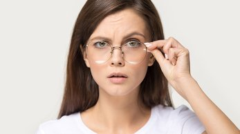 How to stop glasses from sliding down your nose?
