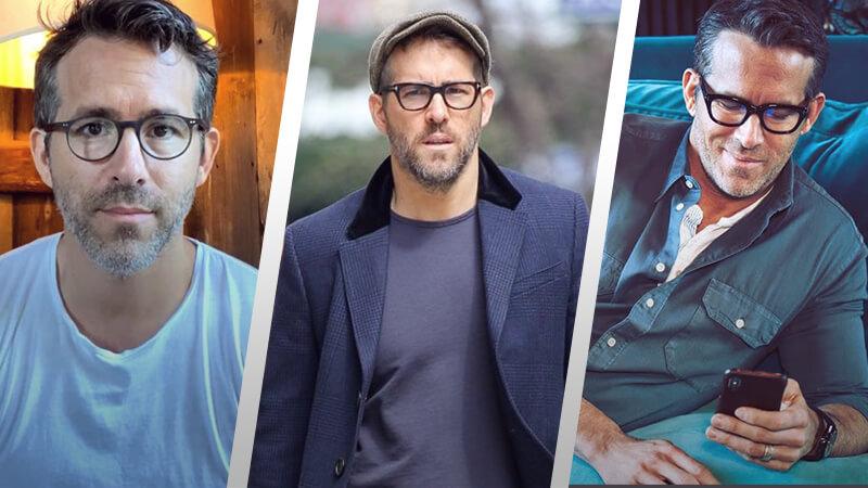 7 Ryan Reynolds Eyewear Styles You Can Copy Easily