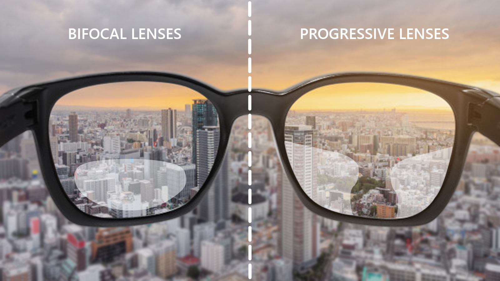 What is the difference between bifocal and progressive lenses?