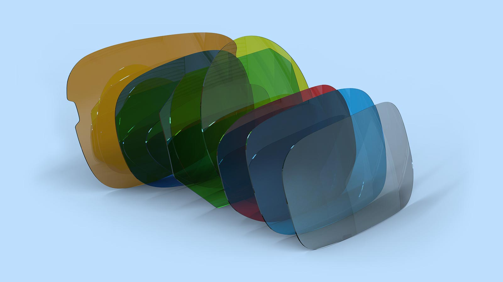 What type of glasses lens material your specs carry?