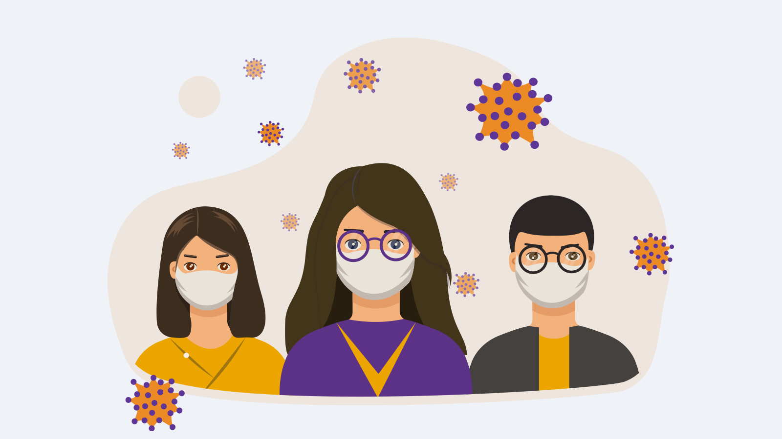 How to use disinfectant to clean eyeglasses in the pandemic of Coronavirus?