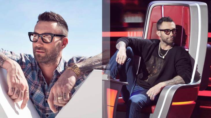 4 Admirable Adam Levine Glasses That Will Raise Your Look up a Notch