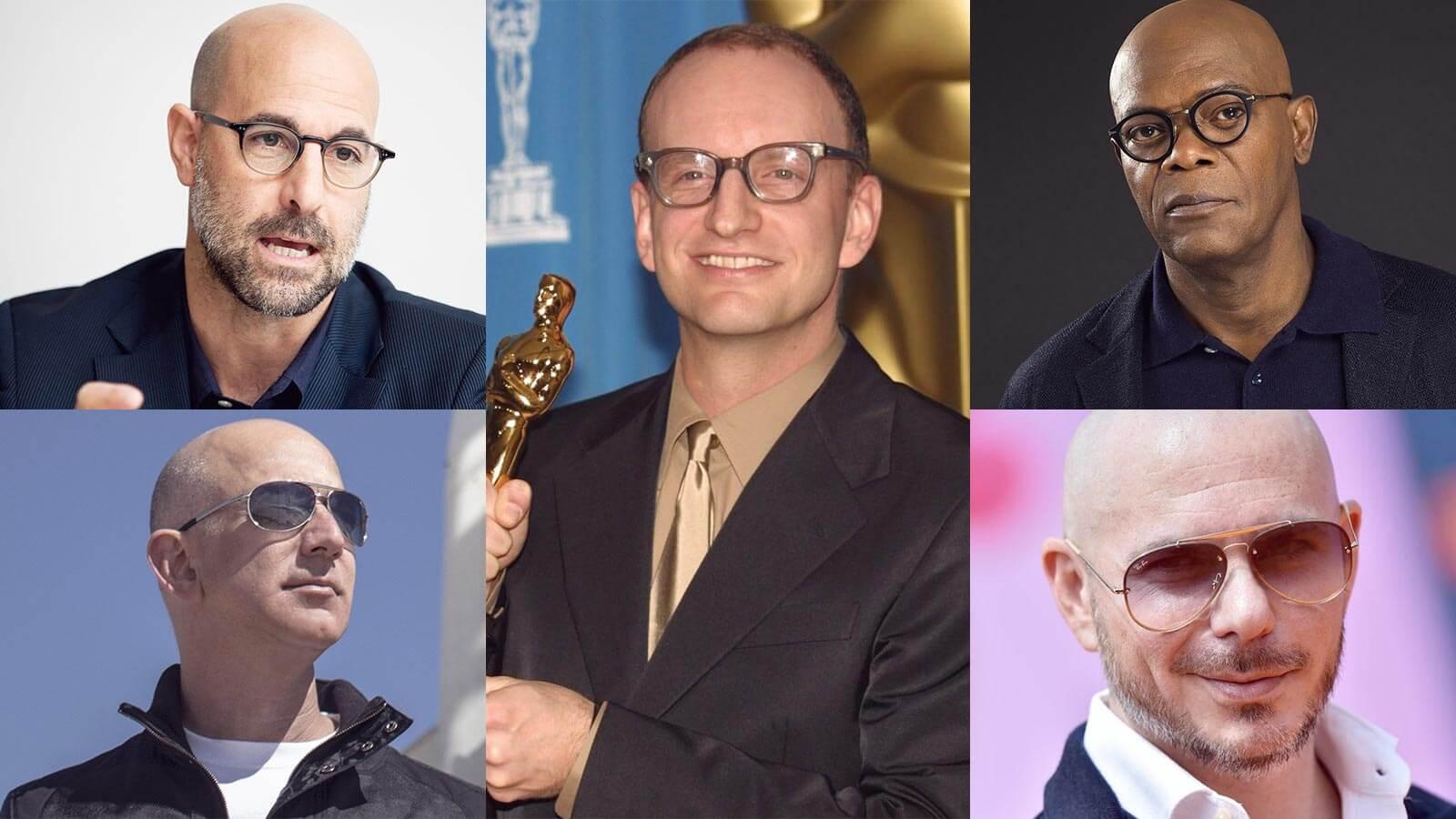 Eyewear for bald men