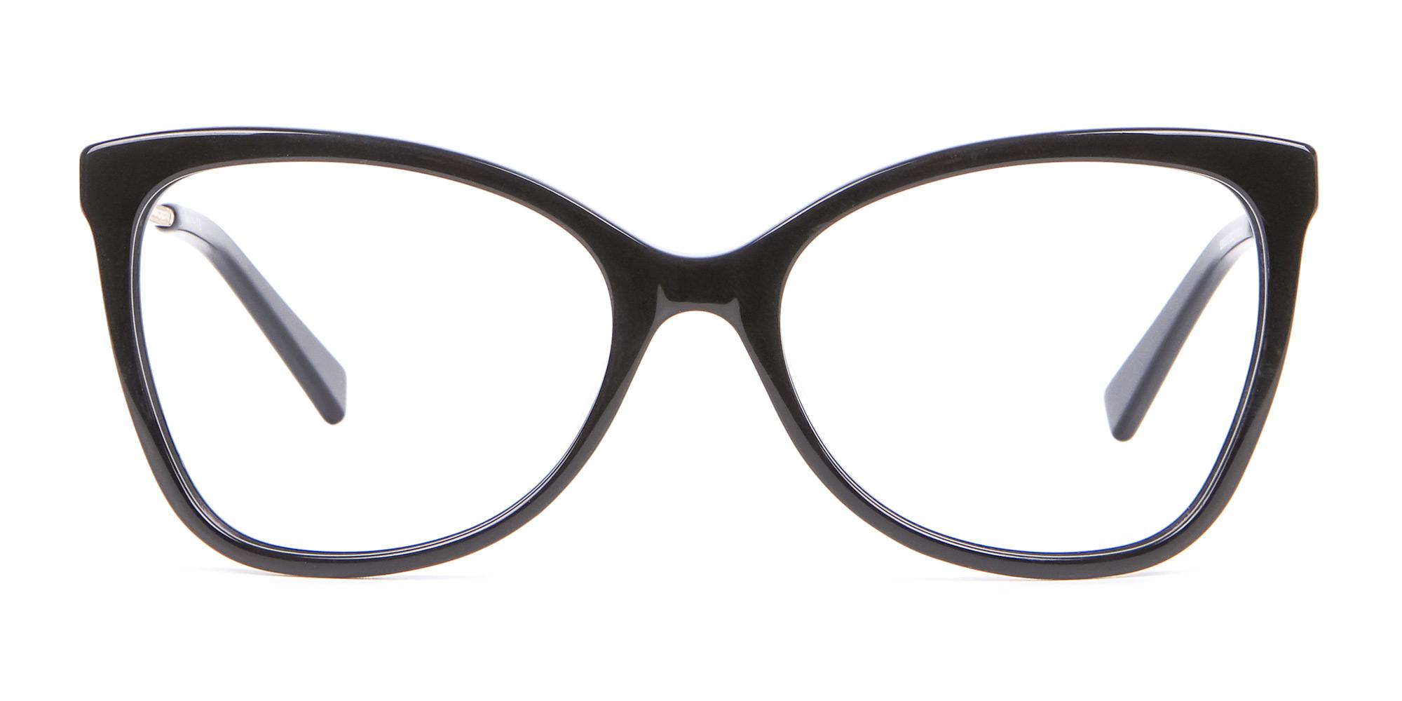classic black cat eye glasses