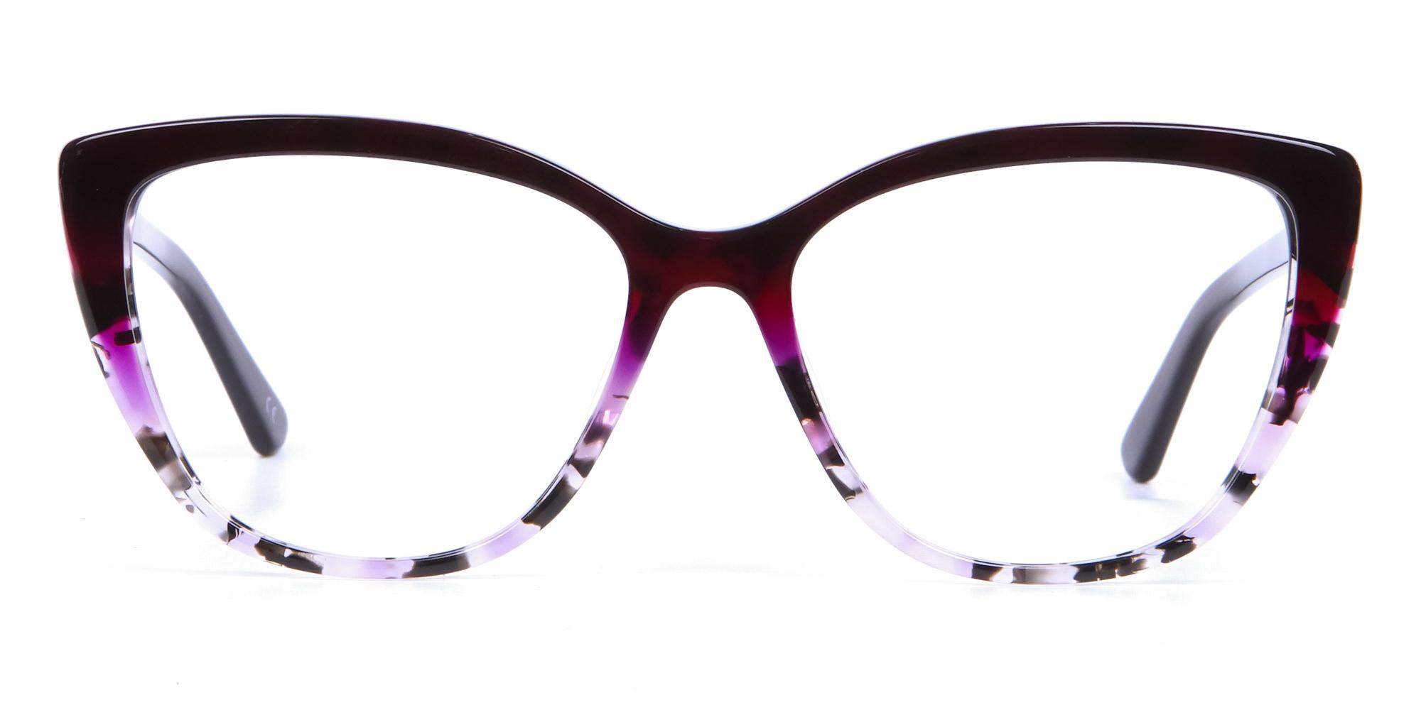Oversized glasses eyewear trends 2020