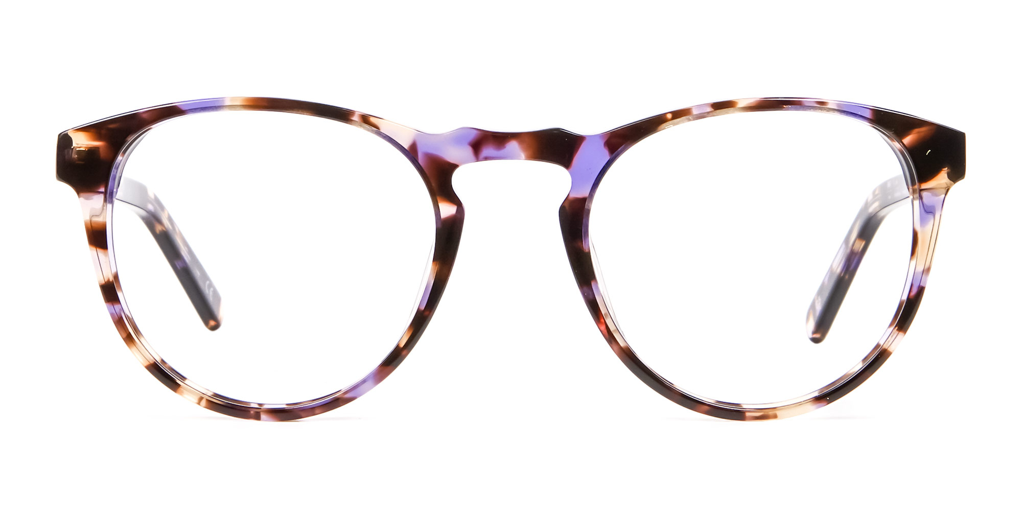 purple tortoiseshell glasses trends 2020