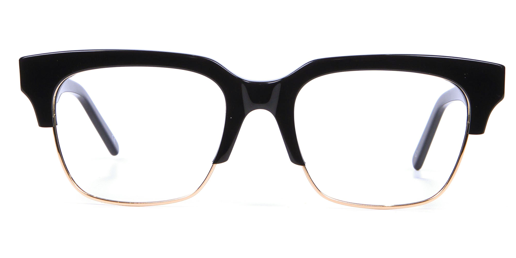 90's Inspired Vintage Black hipster glasses