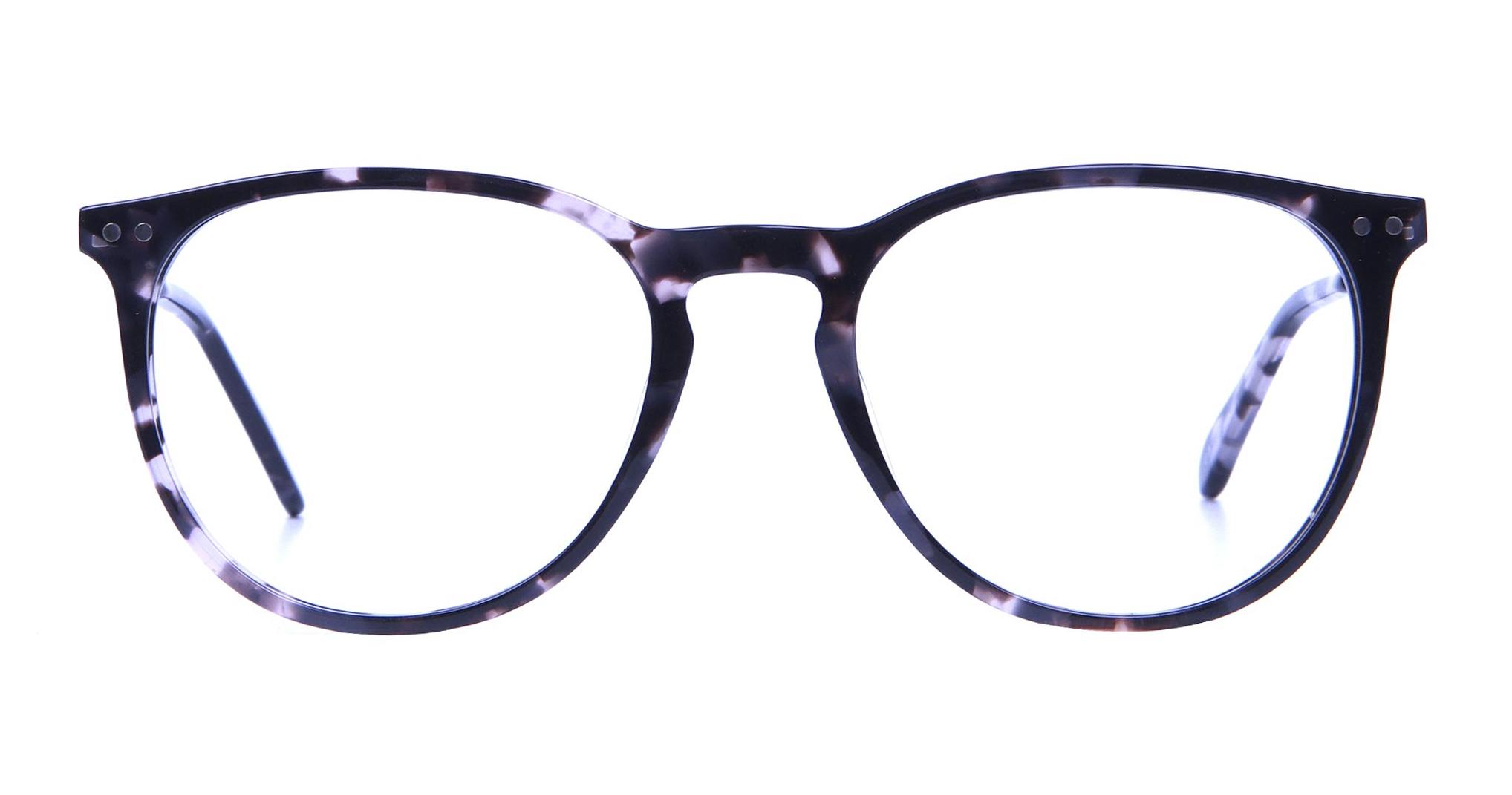 Black and Grey Tortoiseshell Glasses