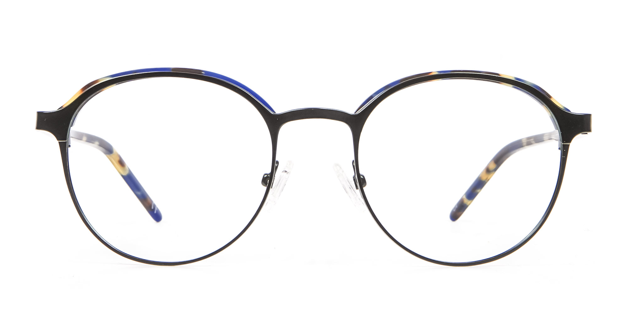 Green Tortoiseshell Glasses in Browline & Round