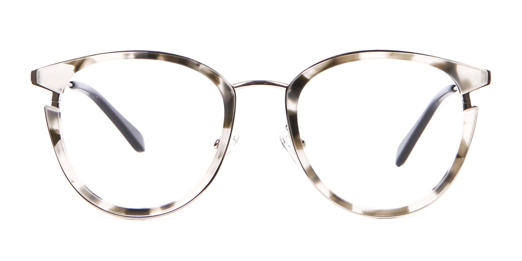 Grey Acetate Glasses in Round