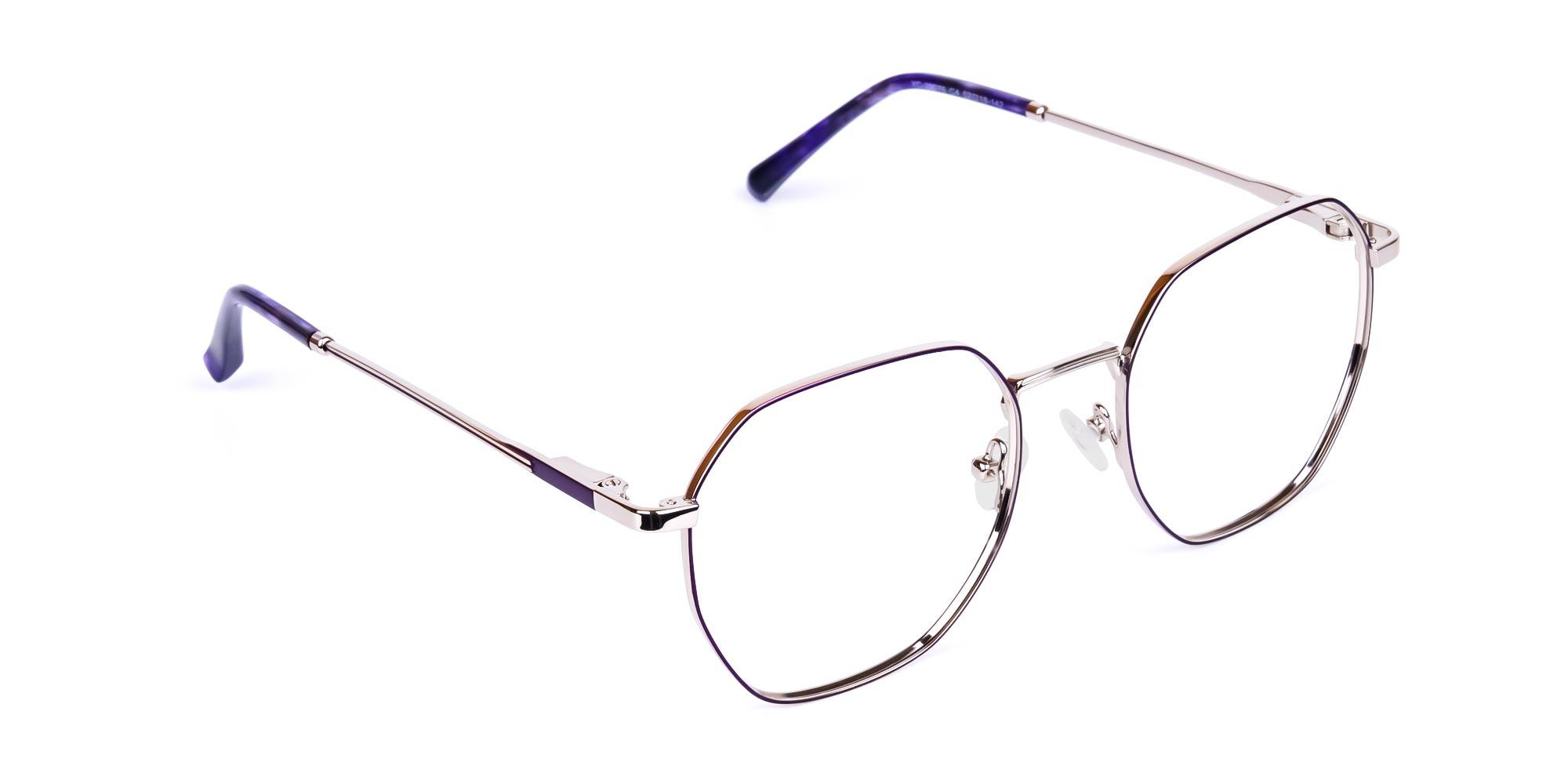 dark-violet-and-silver-geometric-shape-glasses