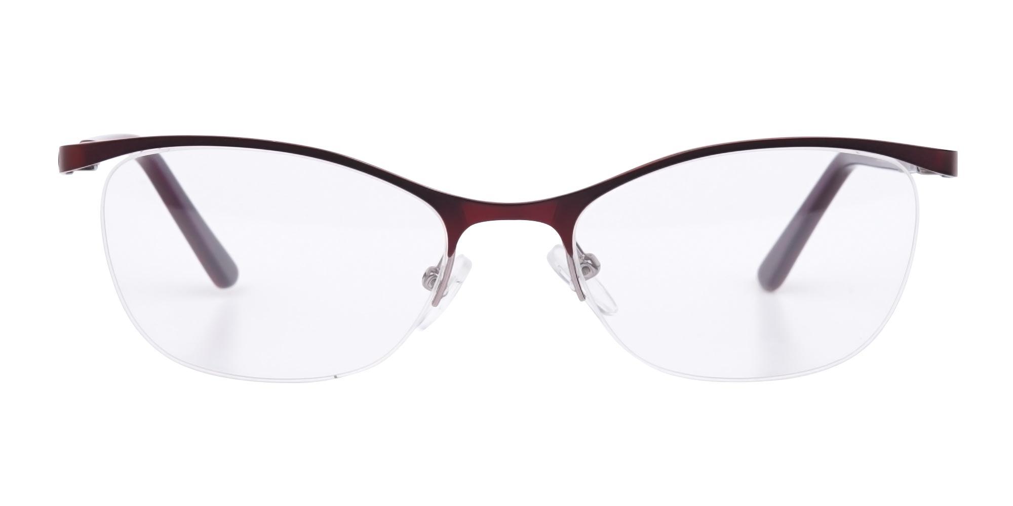 Oval Cat Eye glasses