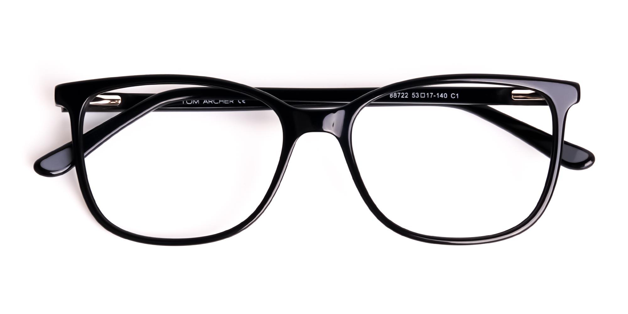 Black Wayfarer Glasses