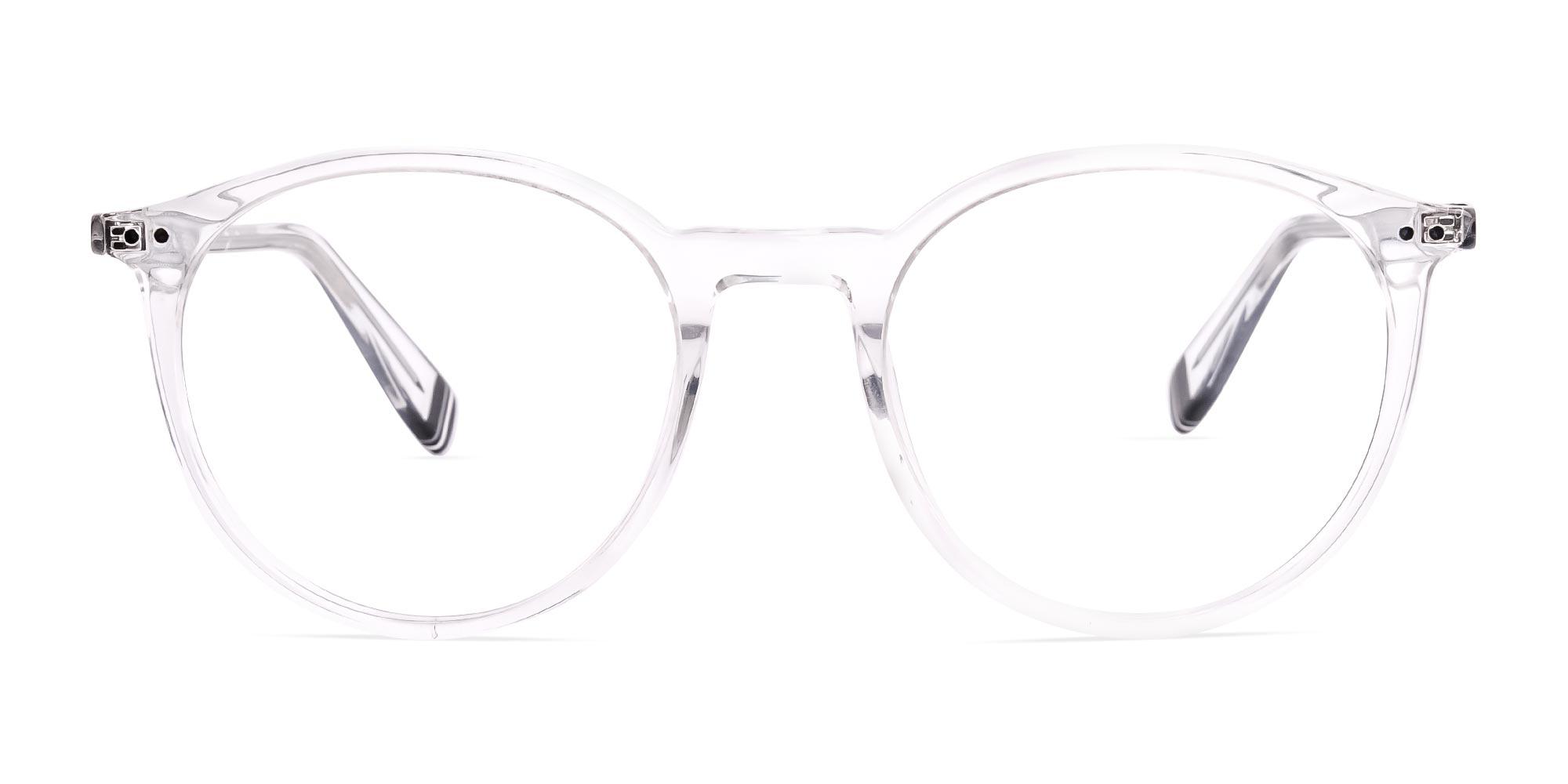 Transparent Round Glasses
