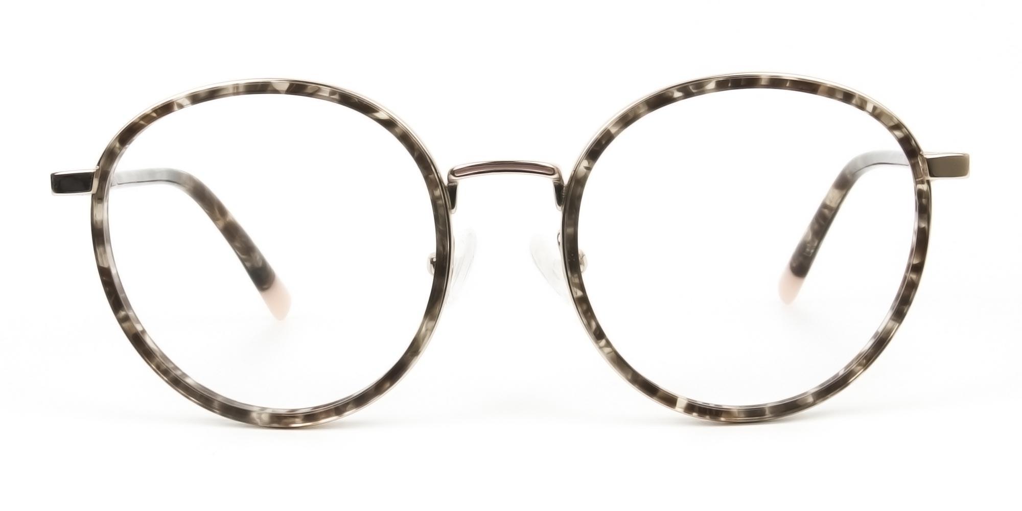 High Nose Bridge Tortoiseshell Glasses