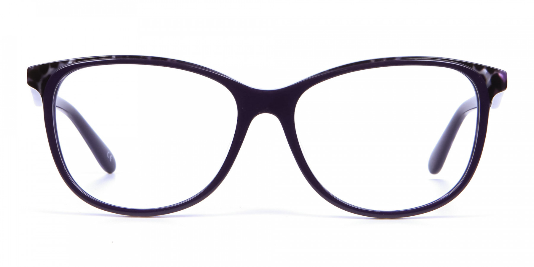 Purple Cat Eye Glasses for Women