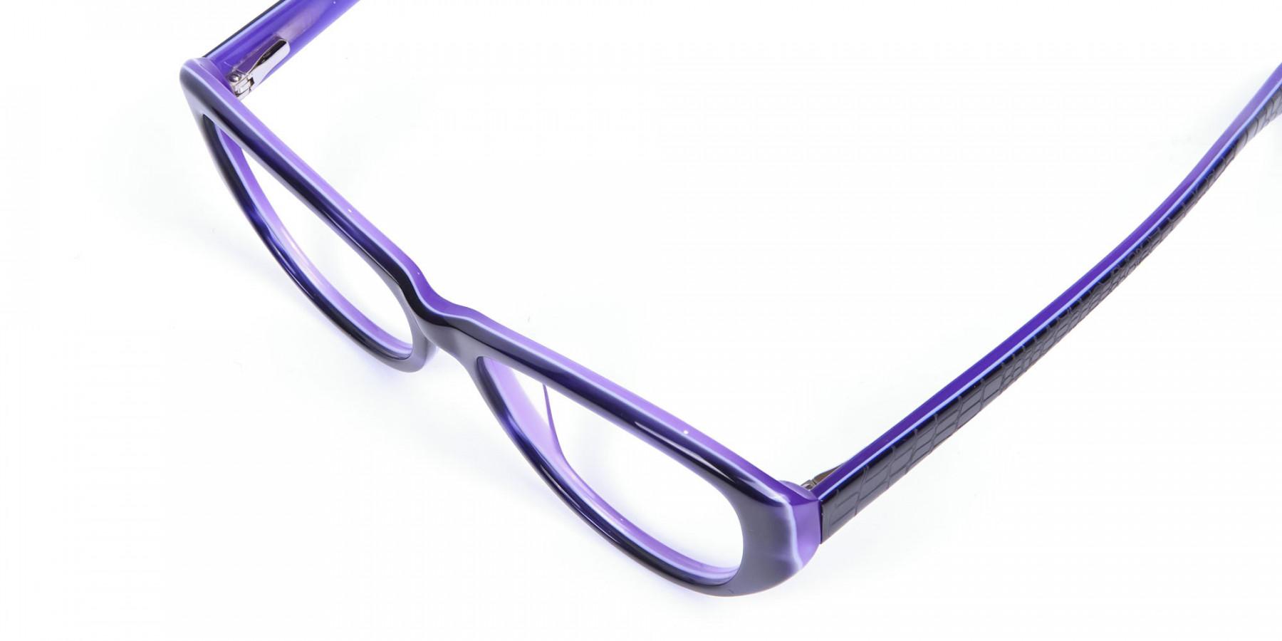Violet Purple Glasses
