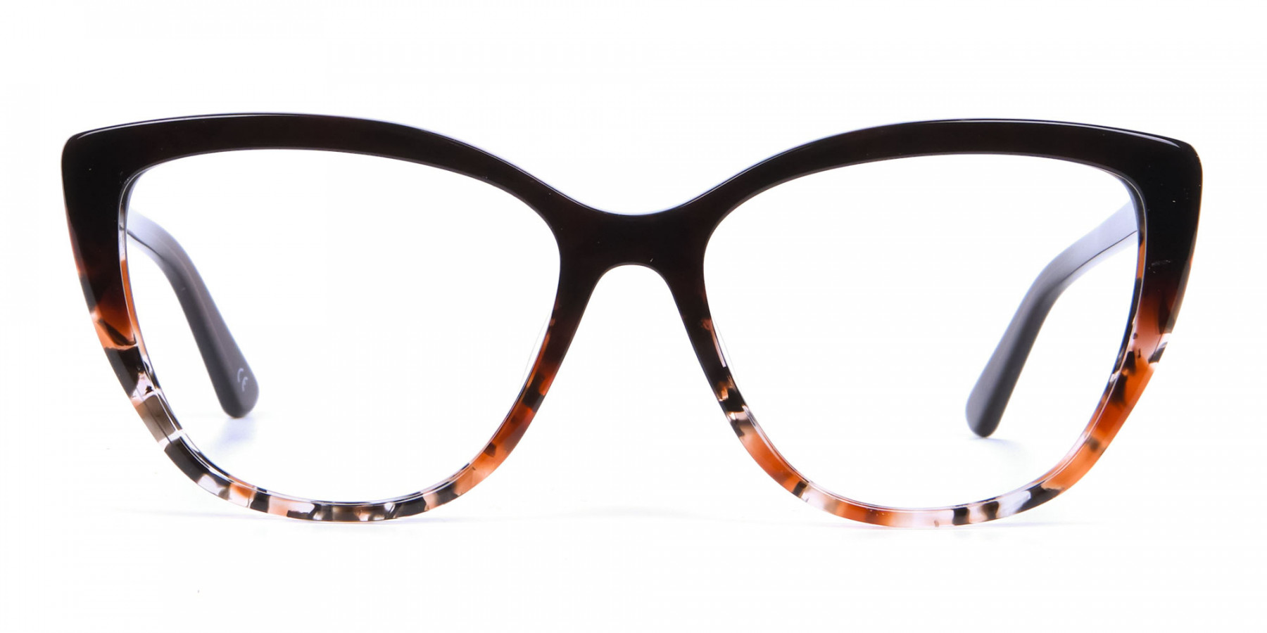 Brown Tortoiseshell Cat Eye Glasses for Women