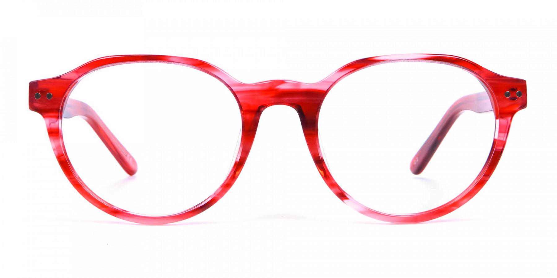 Crystal Ruby Red Eyeglasses