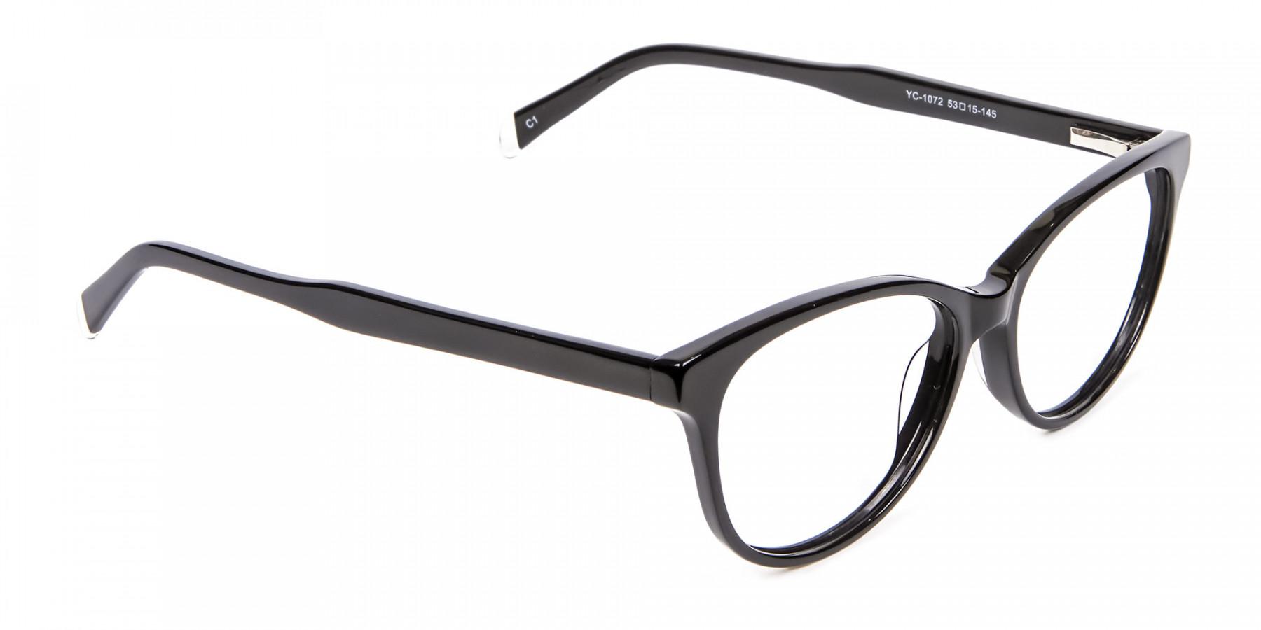 Black Cat Eye Glasses