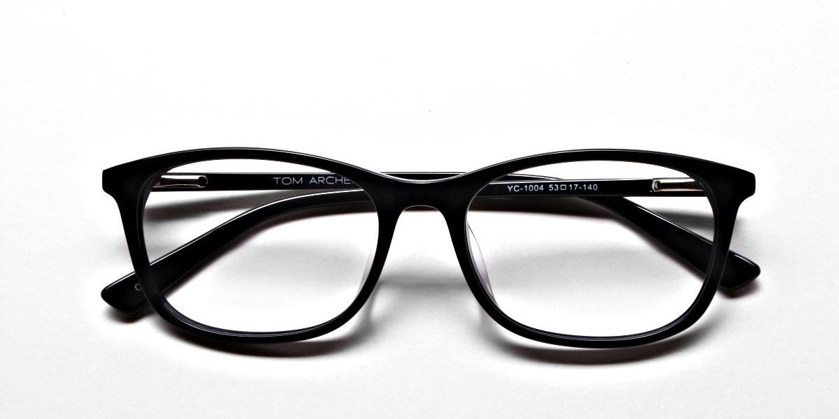 Black Classic Glasses