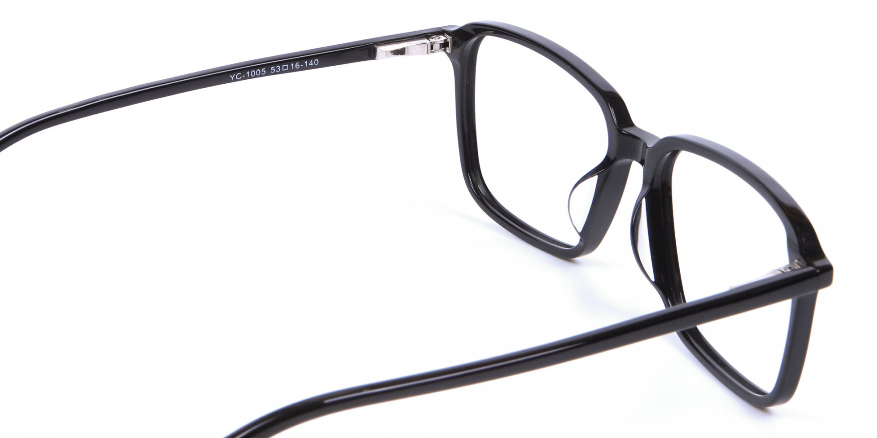 Black Rectangular Glasses