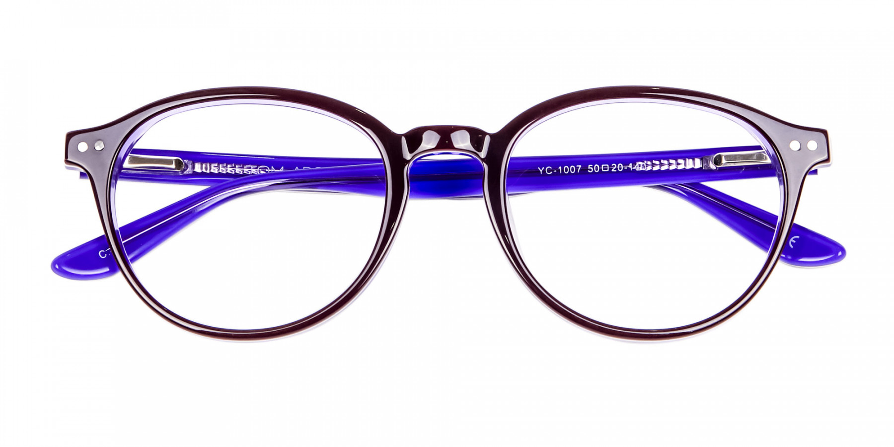 Black and Violet Glasses Online - 1