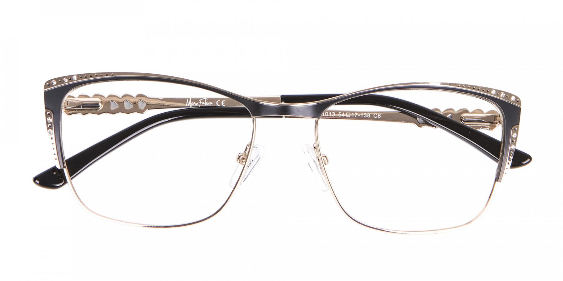 Lady Glasses Rectangular and Cateye-1