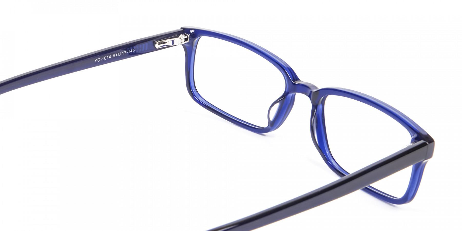 Classy Navy Blue Frames