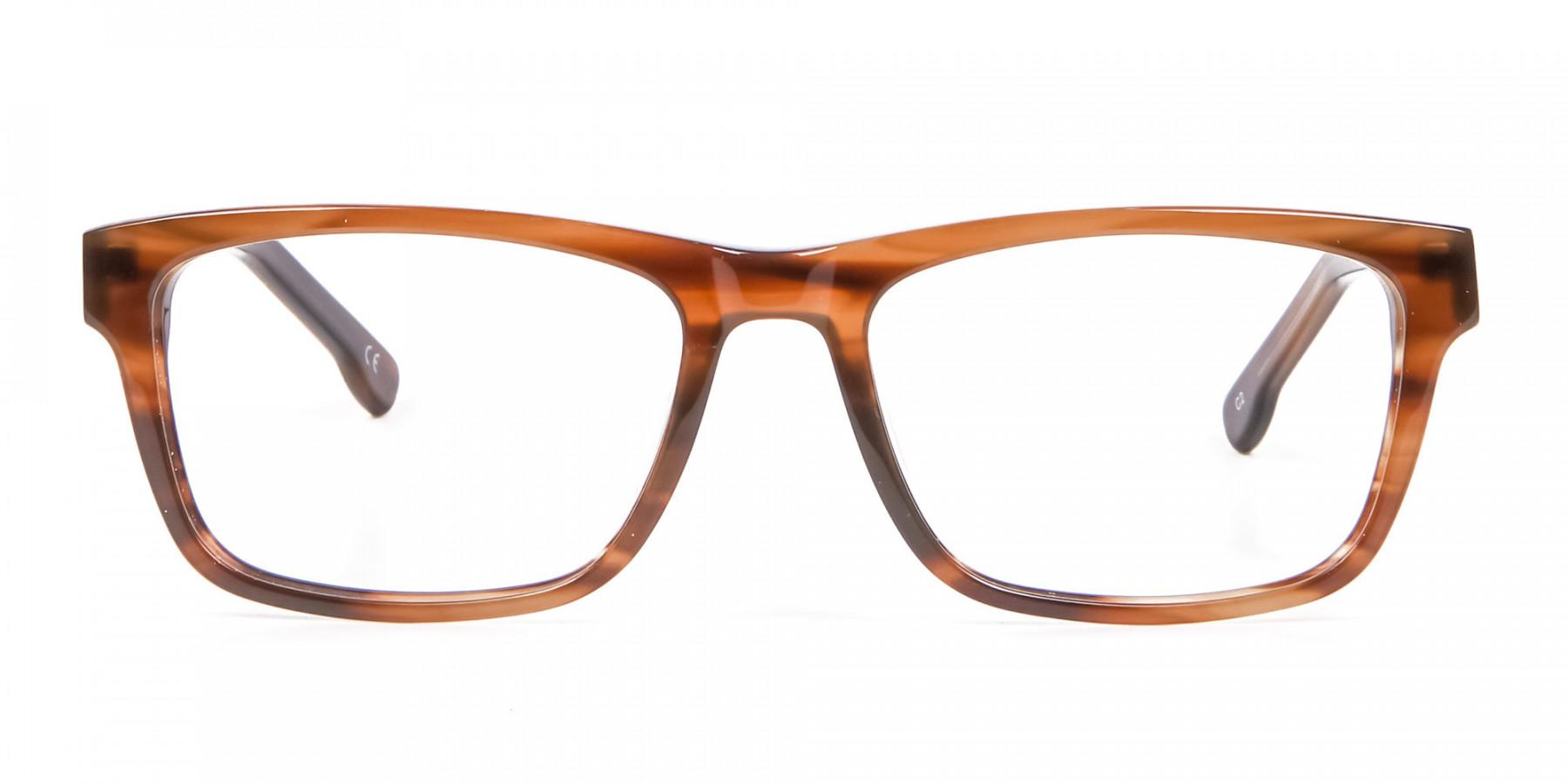 Wayfarer Shape Avant-Garde Sunglasses