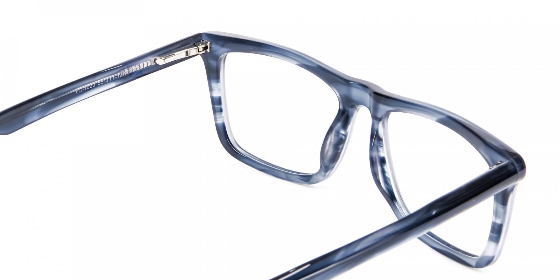 Marble Blue Glasses -1