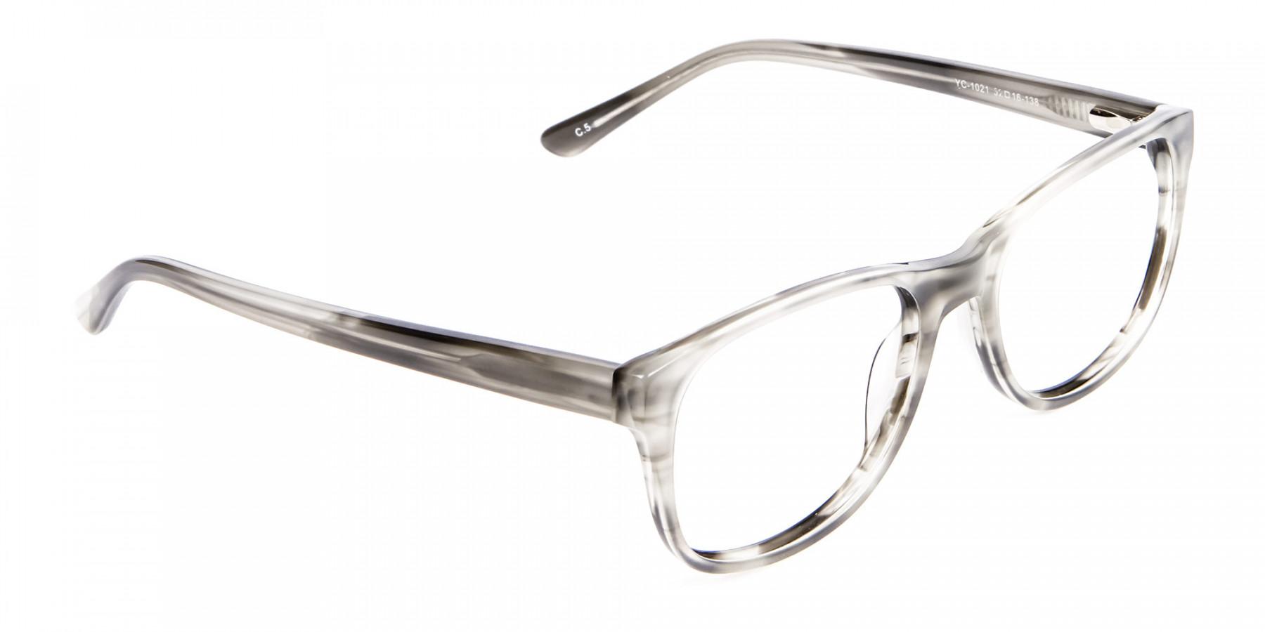 Marbled Silver Grey -1