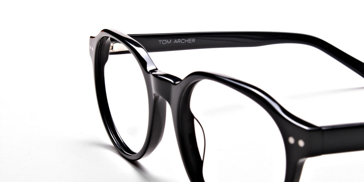 Black Round Glasses, Eyeglasses