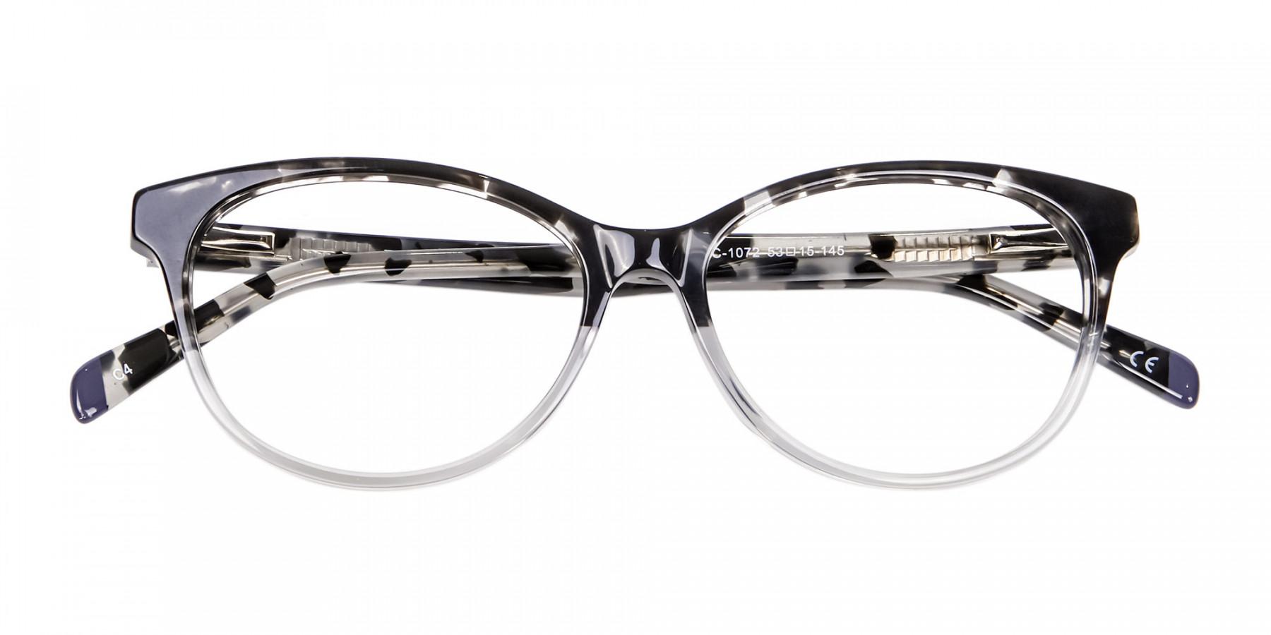 Crystal Spotty Black Frames