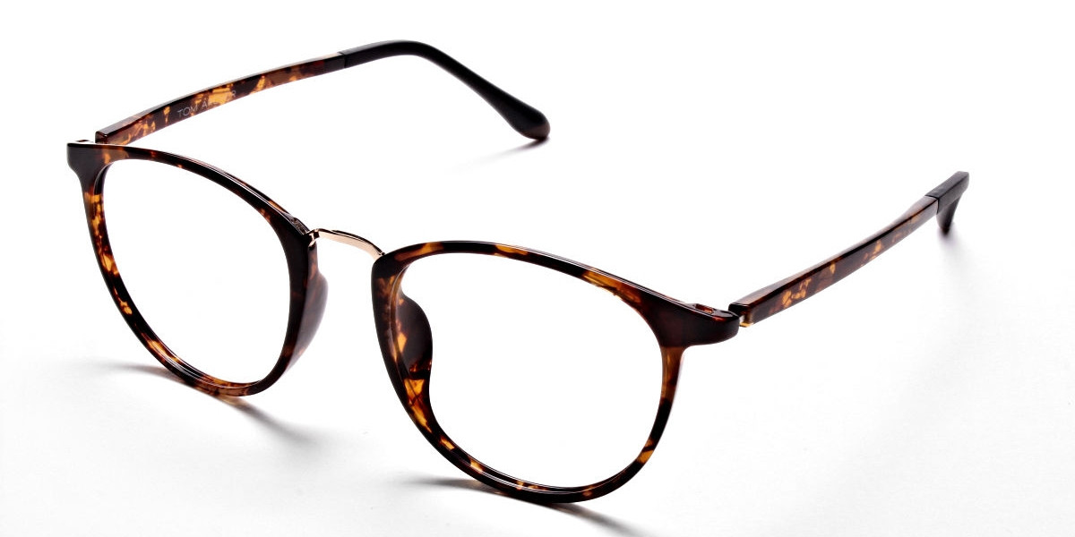 Havana & Tortoise Transparent Glasses