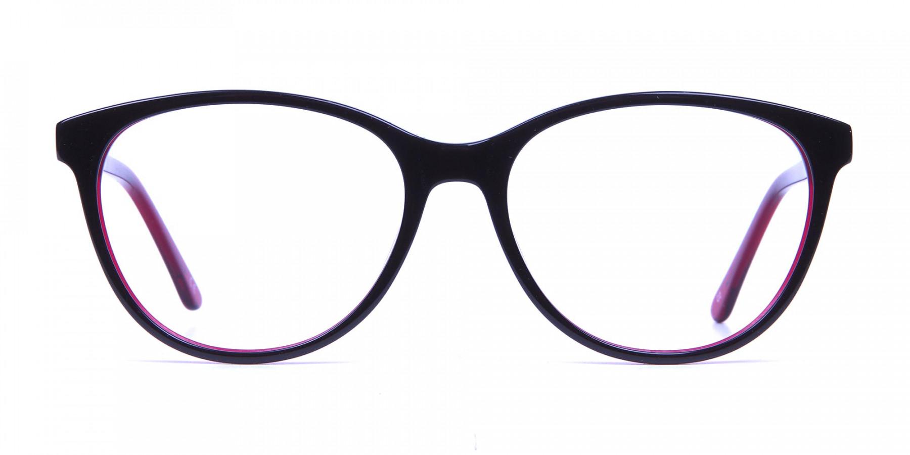 Colourful Cat Eye Frame