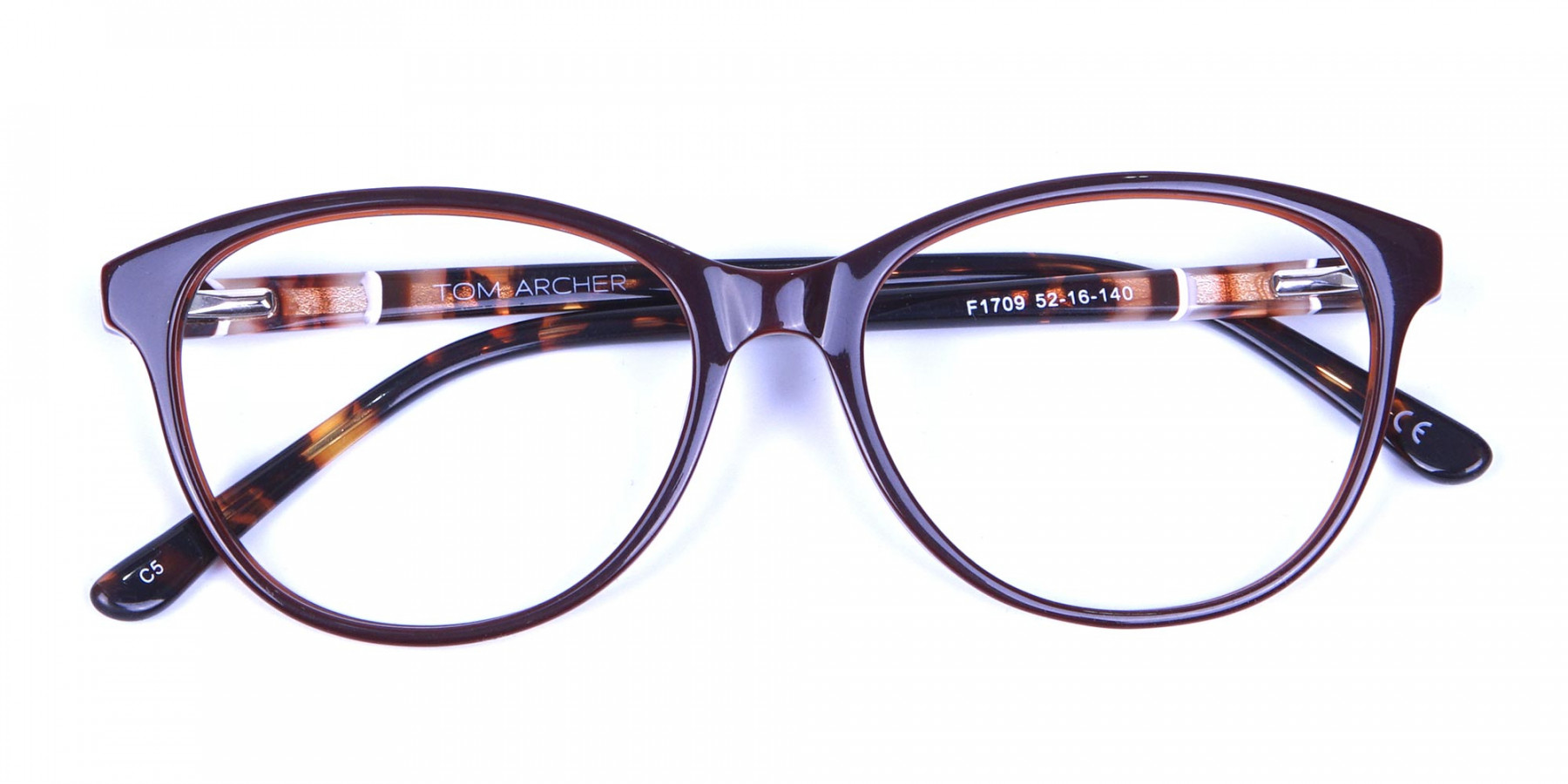 Brown and Tortoiseshell Pattern Glasses