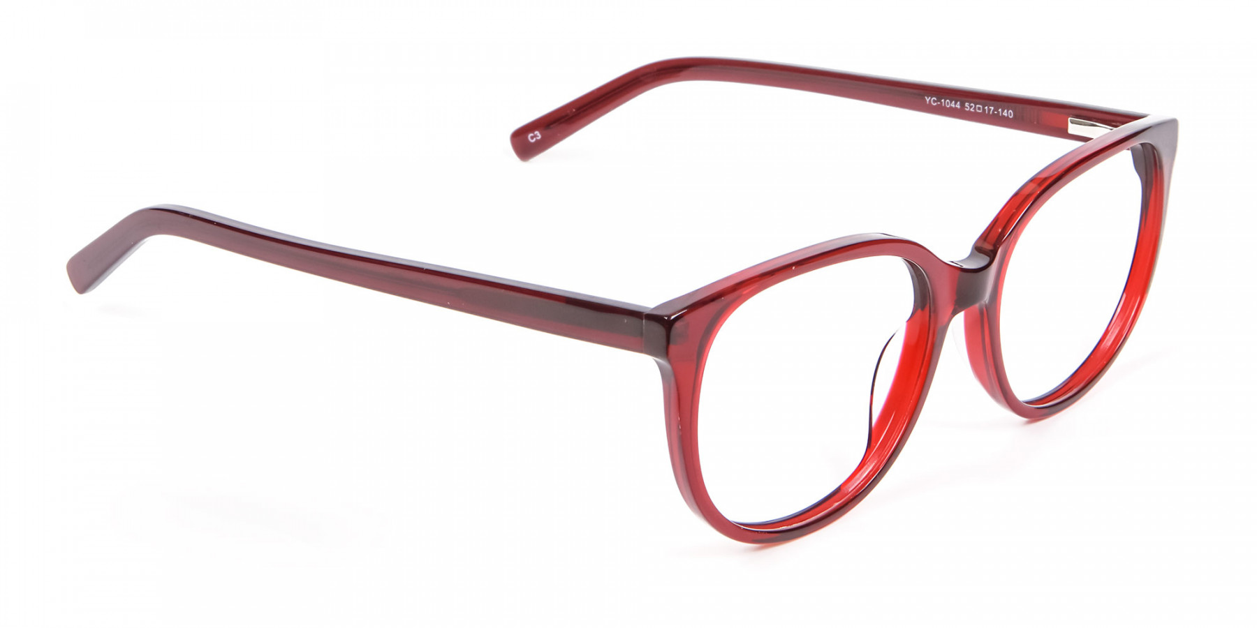 Indulging Designer Frame in Cherry Red, Online