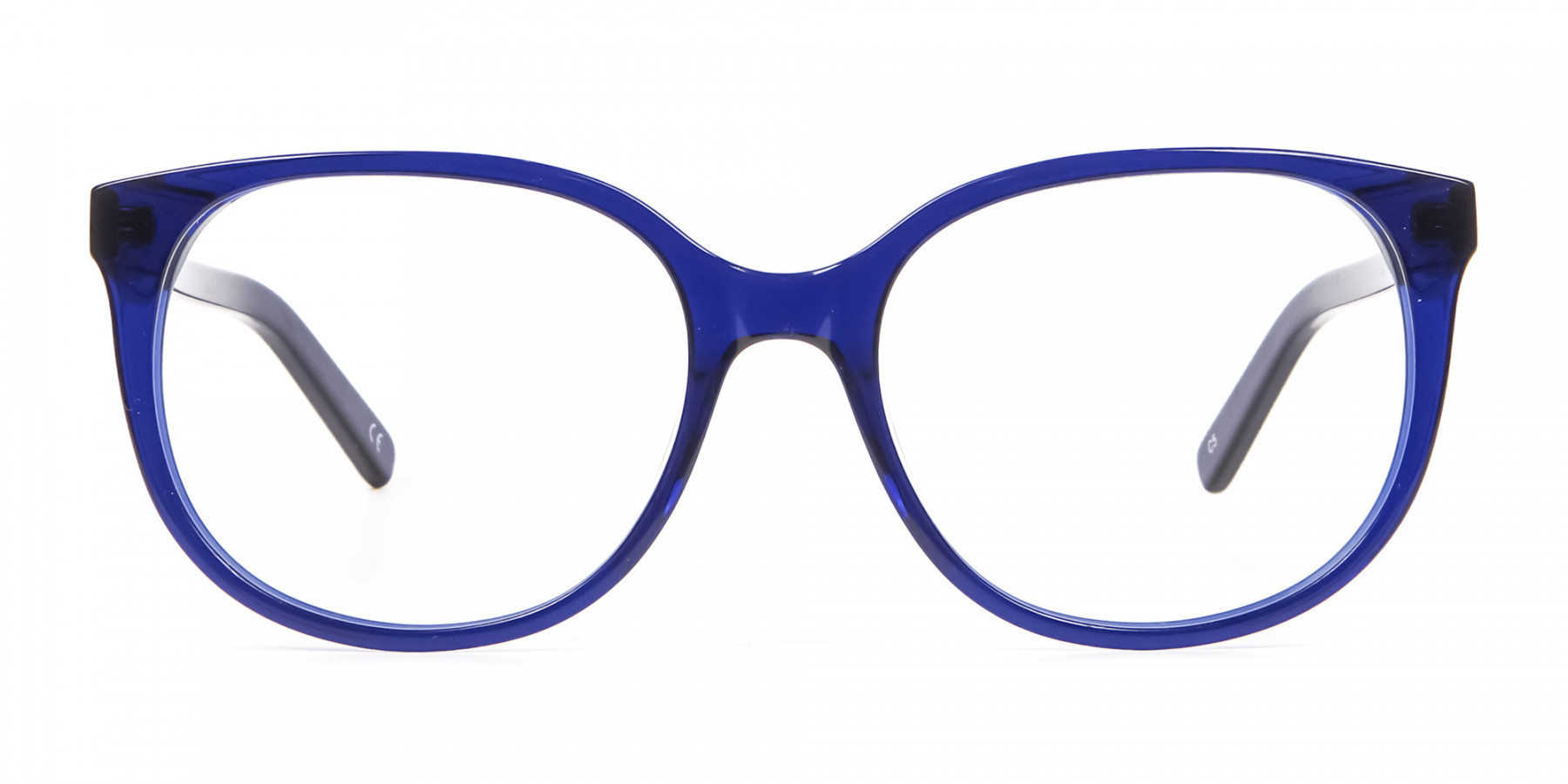 Clever Look with Navy Blue Frame
