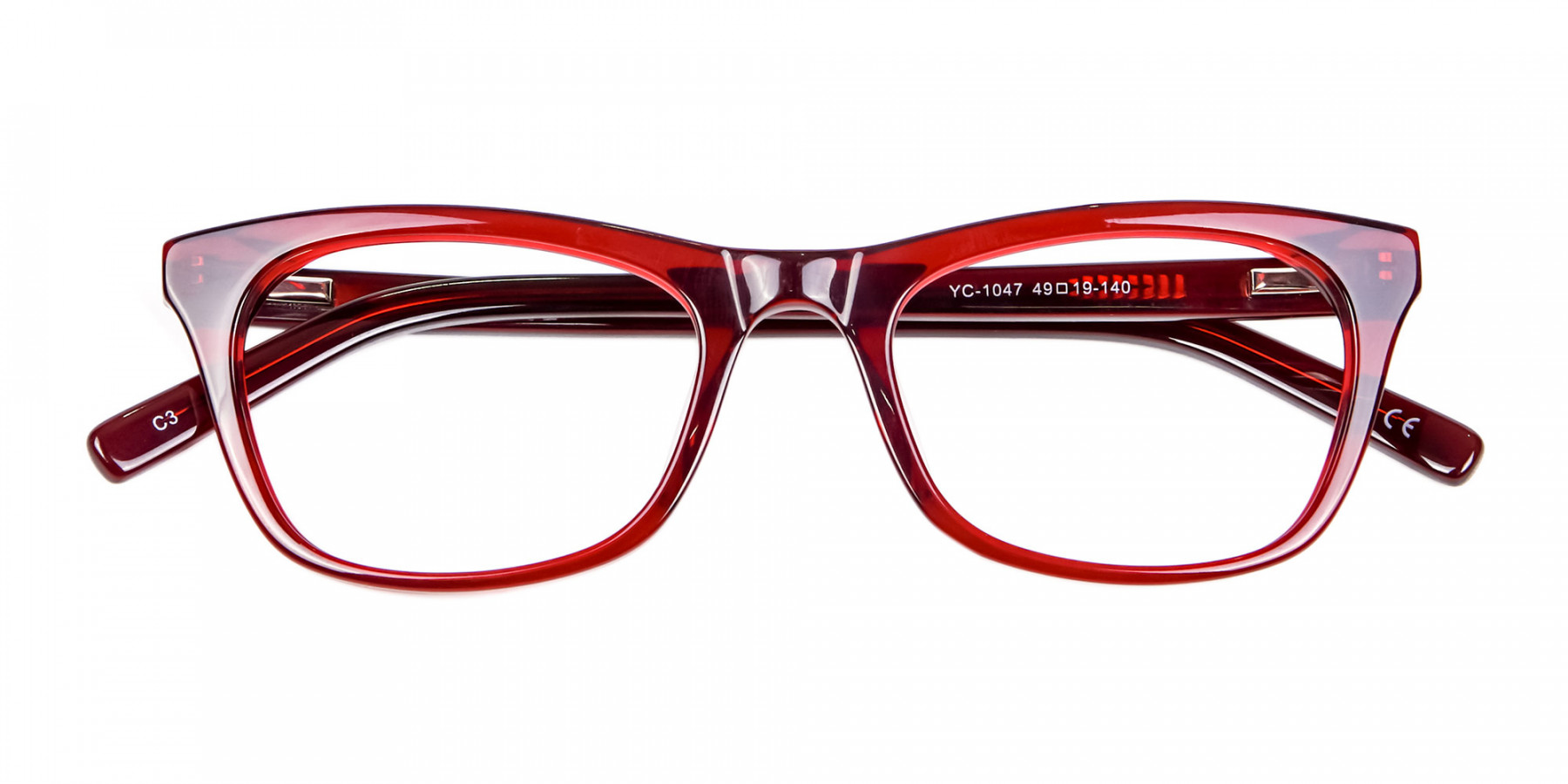Cherry Wine Cat Eye Glasses