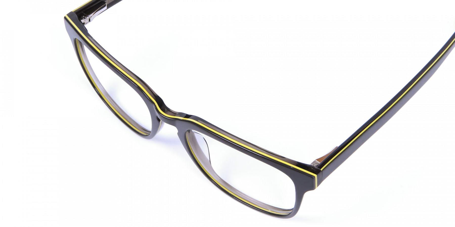 Black & Yellow Stripe