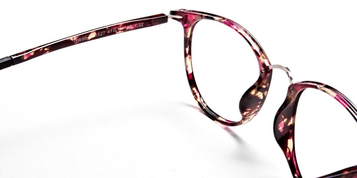 Violet Havana Glasses