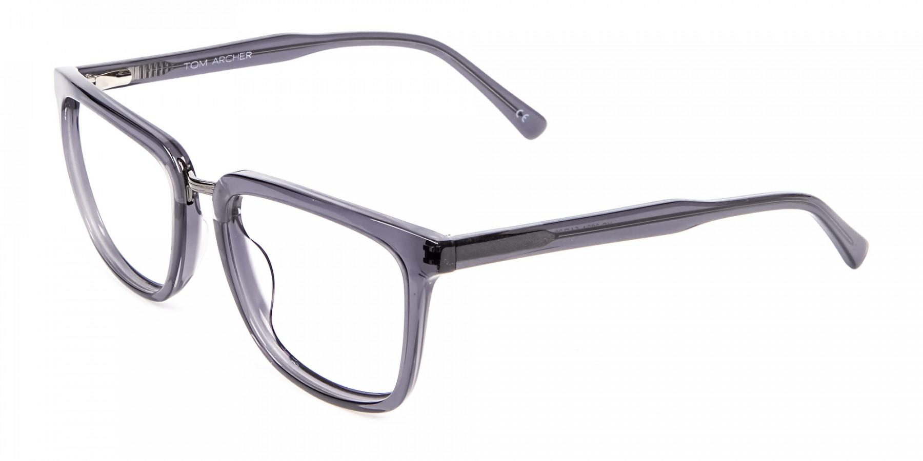 Silver Rectangular Frames -1