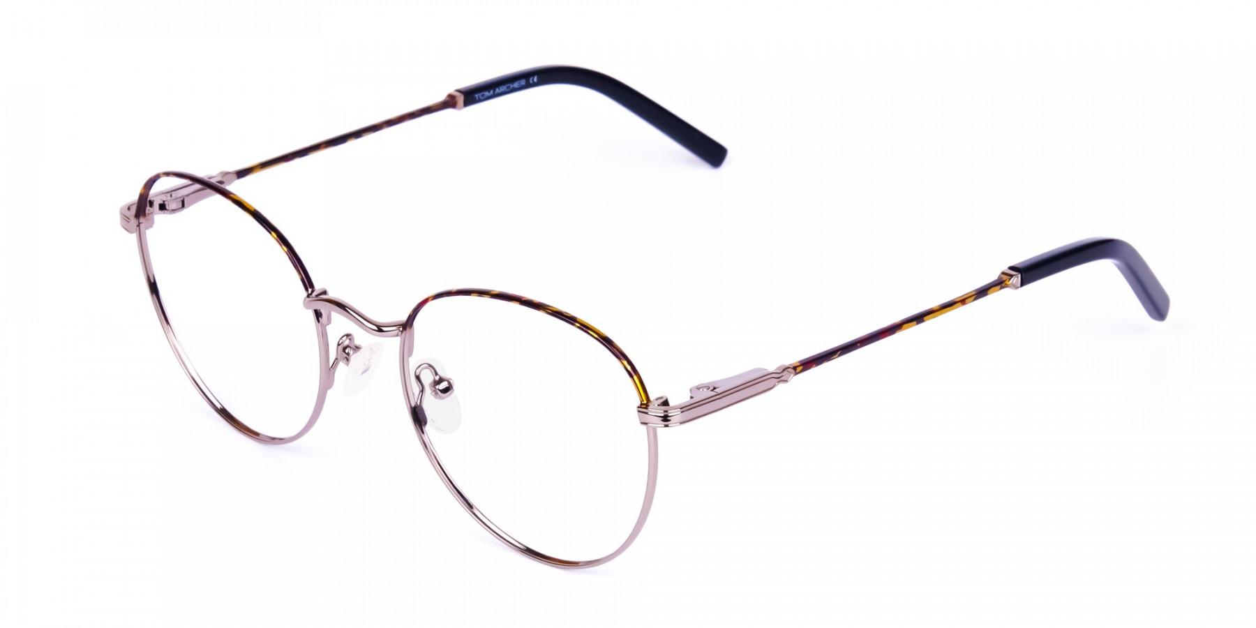 Gunmetal-Round-Tortoise-Shell-Glasses-1