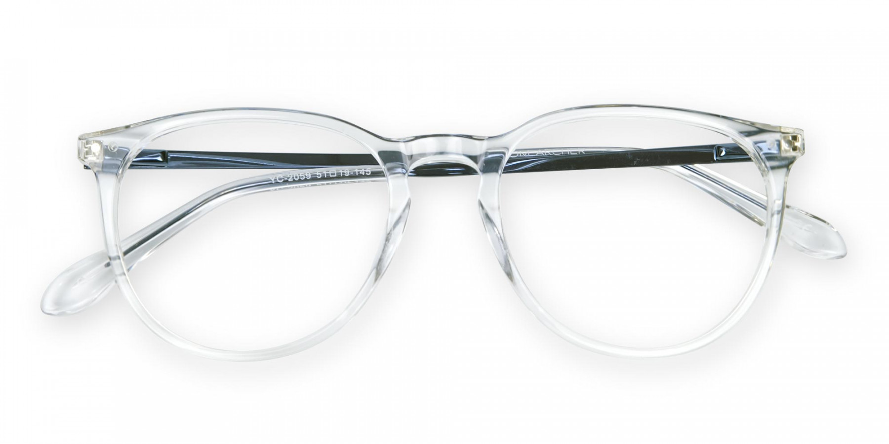 Rimless-Alike Crystal Clear Glasses
