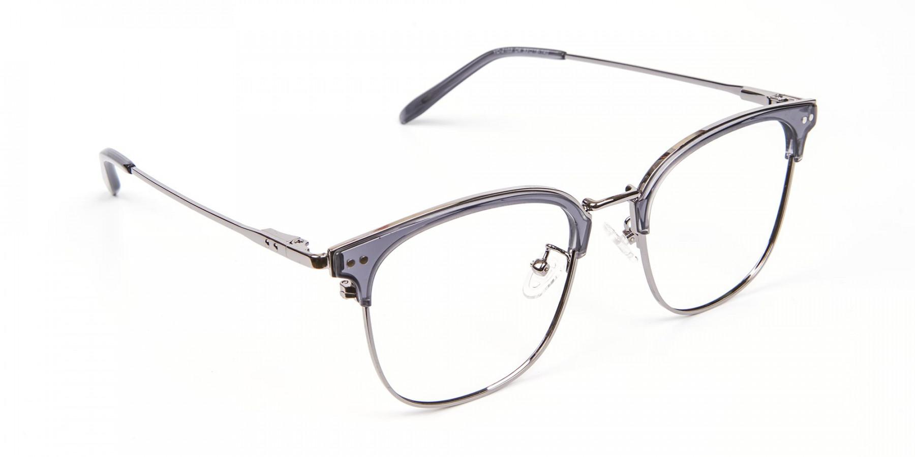 Square Framed Glasses - 1