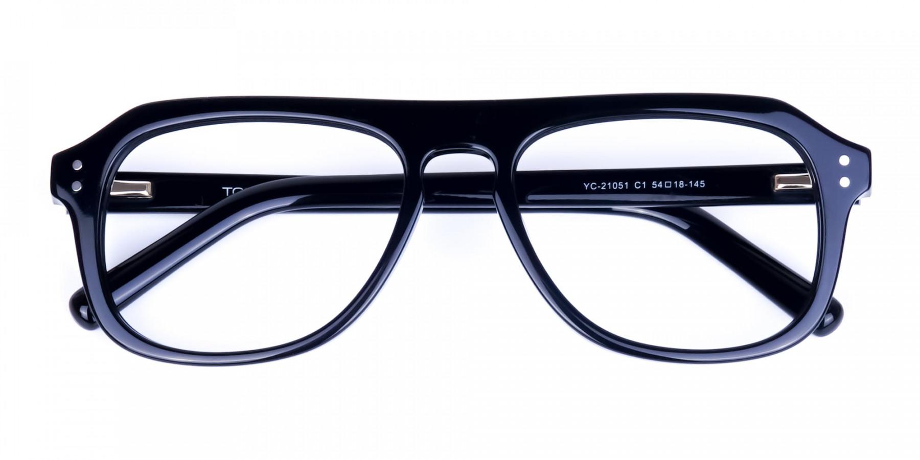 All-Black-Aviator-Glasses-Frame-1