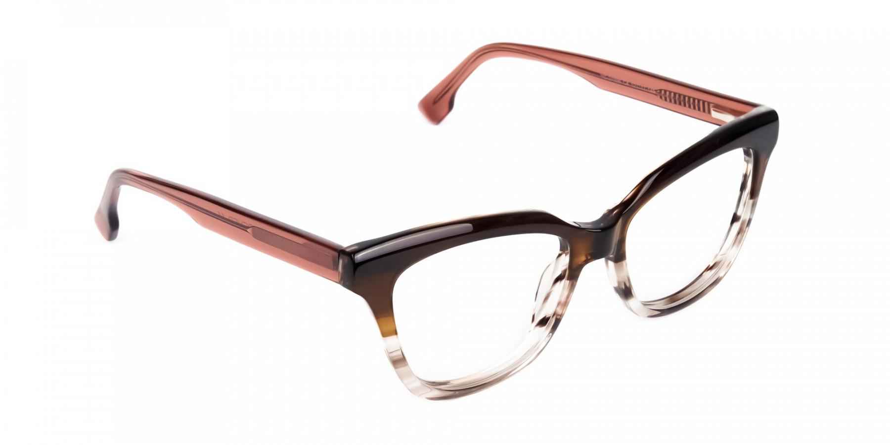cat eye blue light glasses -1