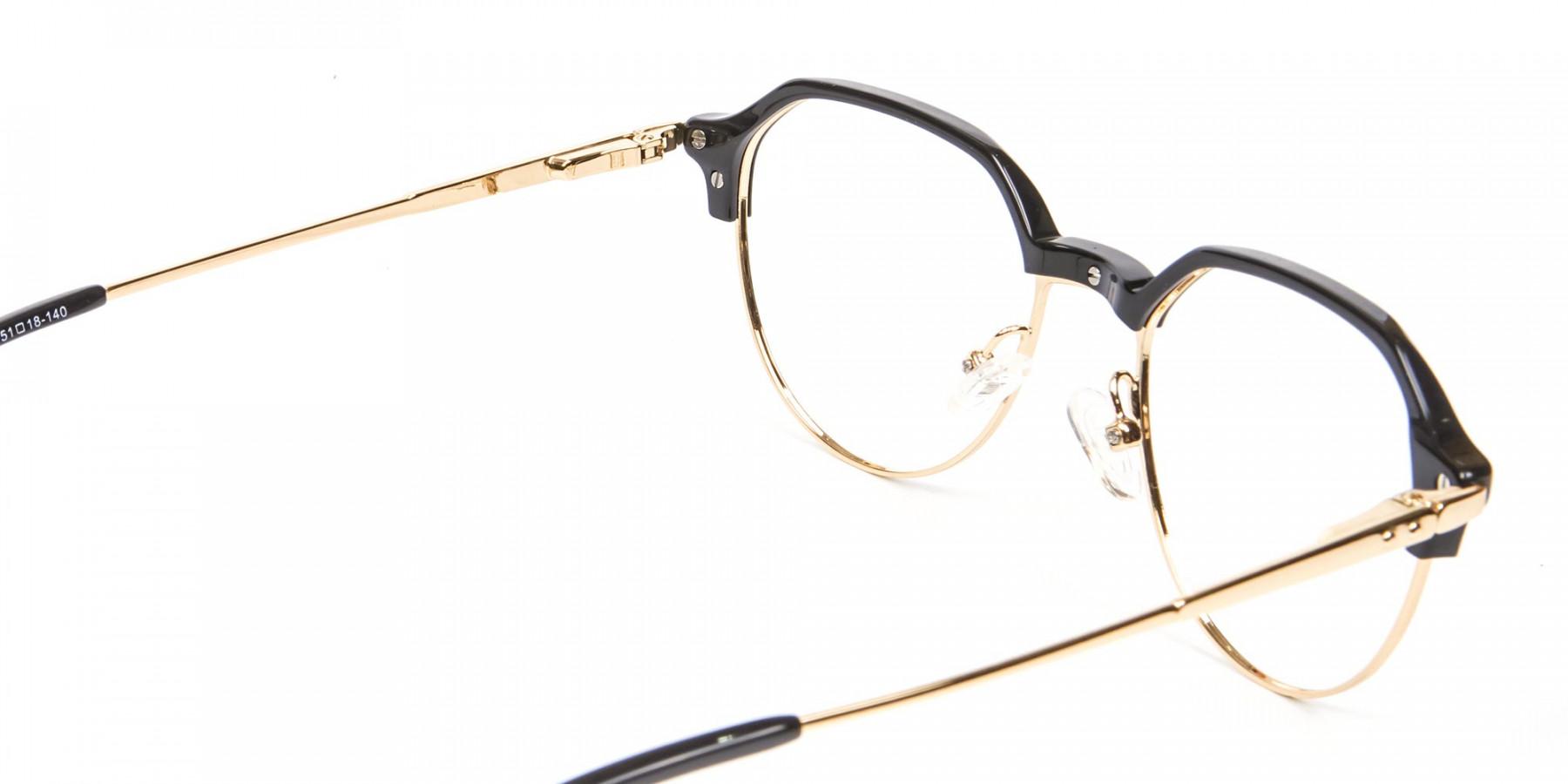 Fresh Look Octagon Glasses - 1